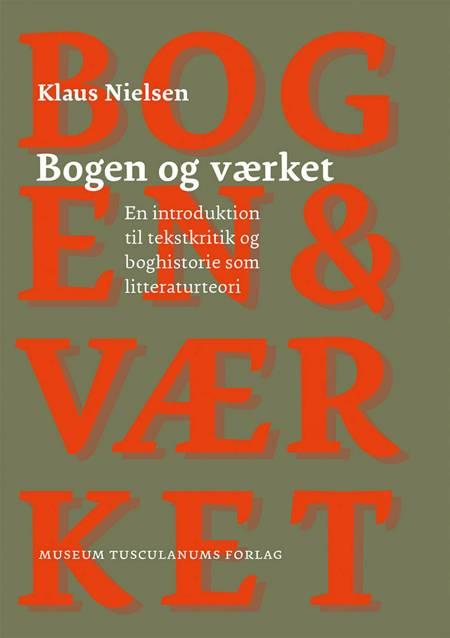 Bogen og værket af Klaus Nielsen