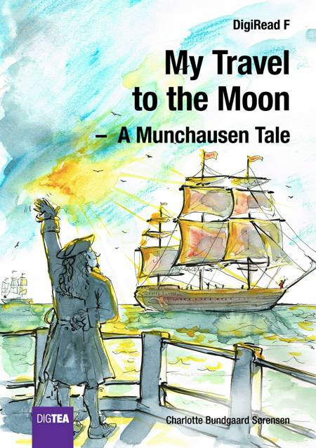 My Travel to the Moon af Charlotte Bundgaard Sørensen