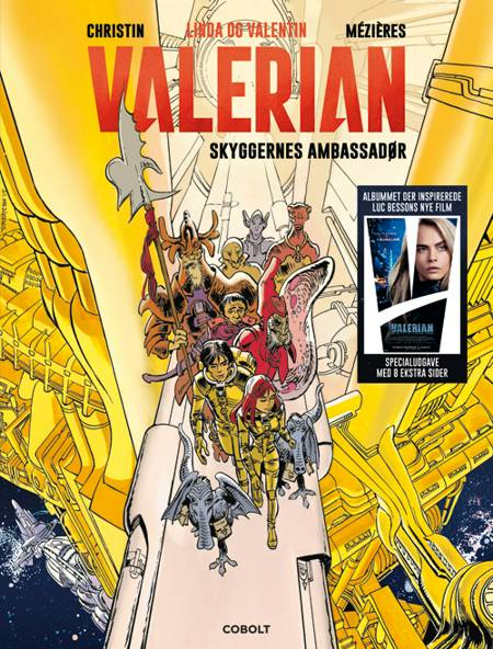 Linda og valentin - Valerian: Skyggernes ambassadør af Pierre Christin og Jean-Claude Mézières