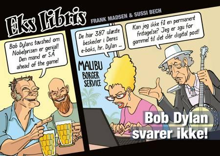 Bob Dylan svarer ikke! af Frank Madsen