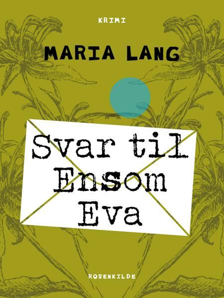 Svar til Ensom Eva af Maria Lang