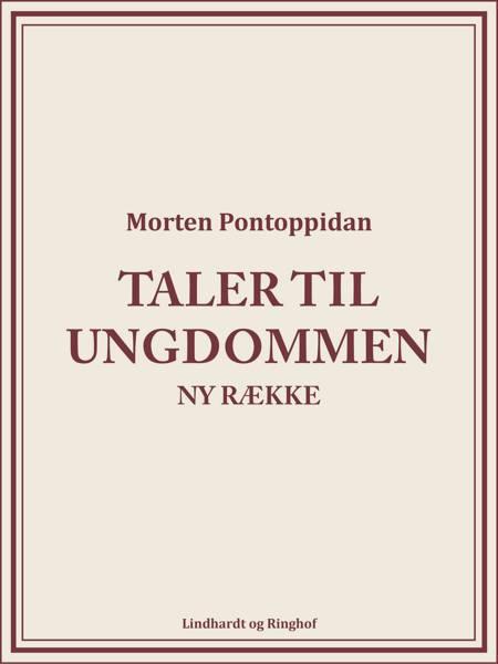 Taler til ungdommen: Ny række af Morten Pontoppidan