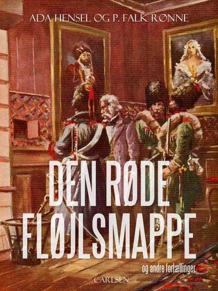Den røde fløjlsmappe og andre fortællinger af Ada Hensel og P. Falk Rønne