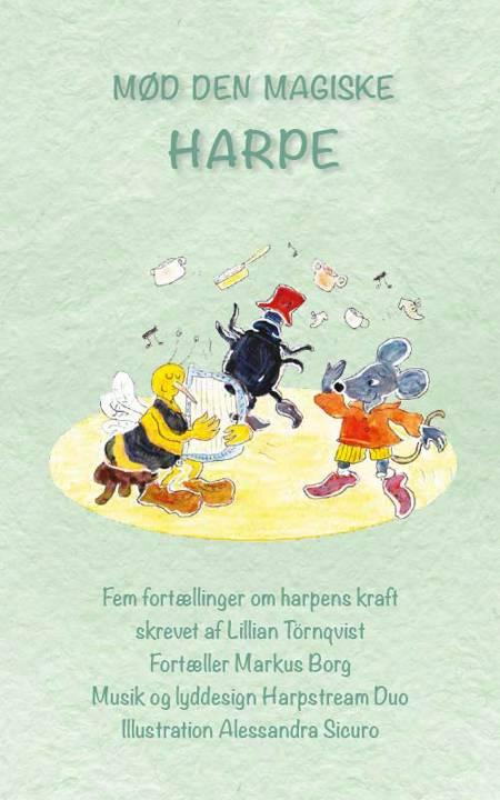 Mød den magiske harpe af Musik Harpstream Duo og Lillian Törnqvist