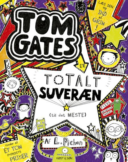 Tom Gates 5 er totalt suveræn (til det meste) af Liz Pichon