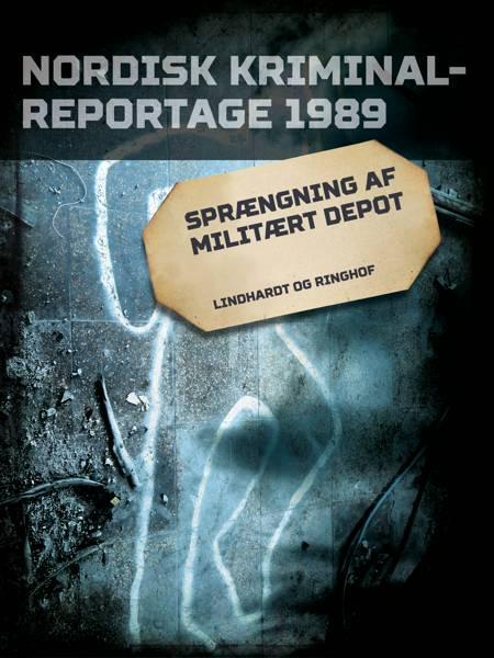 Sprængning af militært depot