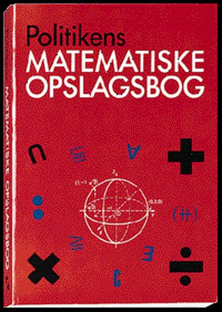 Matematisk opslagsbog af William Karush