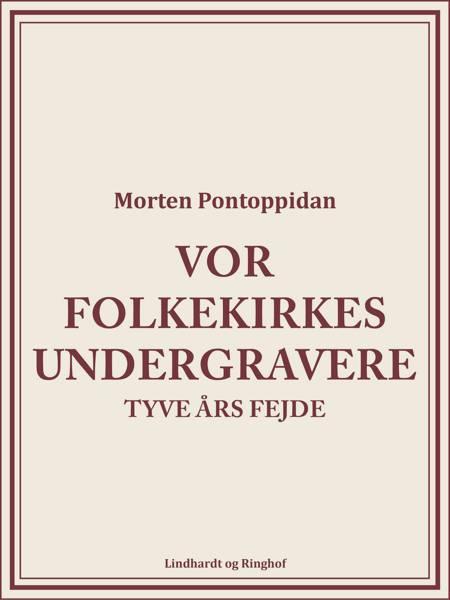 Vor folkekirkes undergravere: Tyve års fejde af Morten Pontoppidan