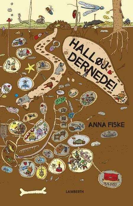 Halløj dernede! af Anna Fiske