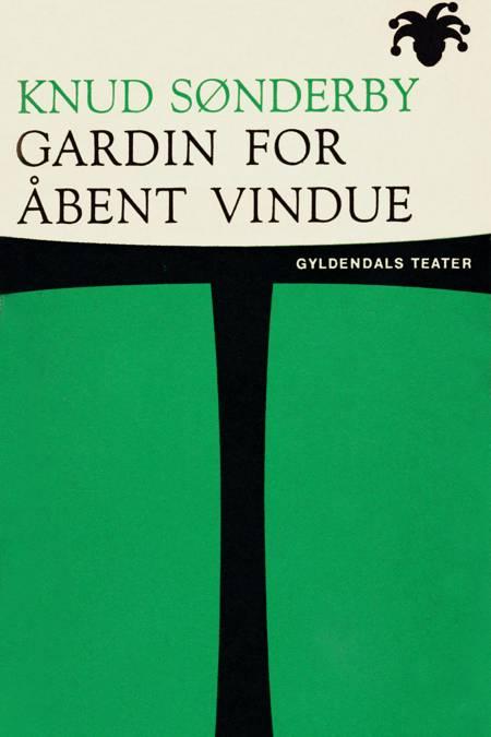 Gardin for åbent vindue af Knud Sønderby