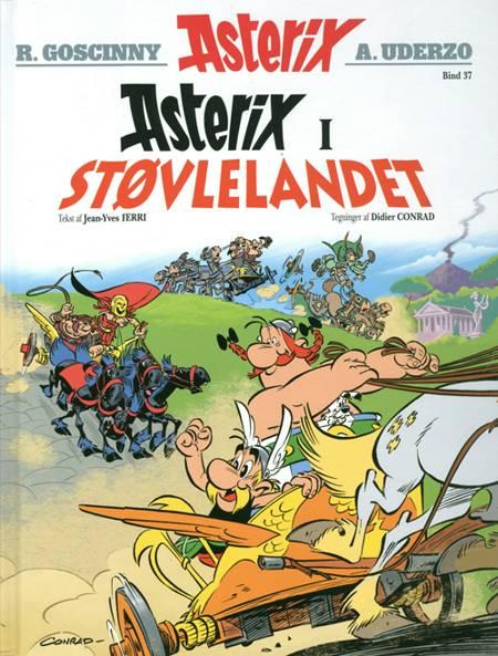 Asterix i Støvlelandet af René Goscinny og Jean-Yves Ferri