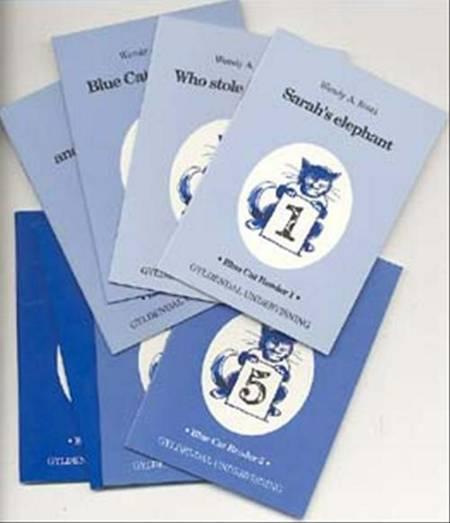 Blue cat reader af Wendy A. Scott