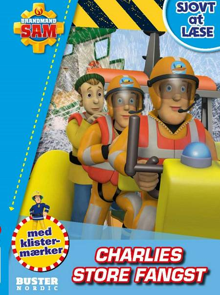 Brandmand Sam: Sjovt at læse - Charlies store fangst