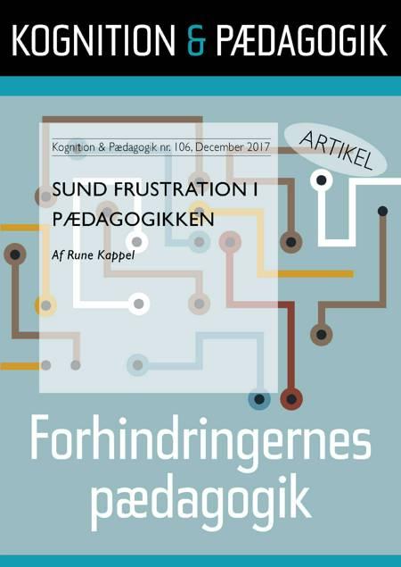 Sund frustration i pædagogikken af Rune Kappel