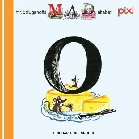 Pixi- Hr. Struganoff madalfabet O af Kim Fupz Aakeson