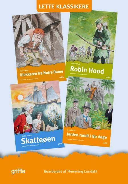4 lette klassikere af Robert Louis Stevenson, Victor Hugo og Flemming Lundahl m.fl.