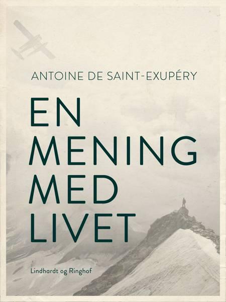 En mening med livet af Antoine de Saint-Exupéry