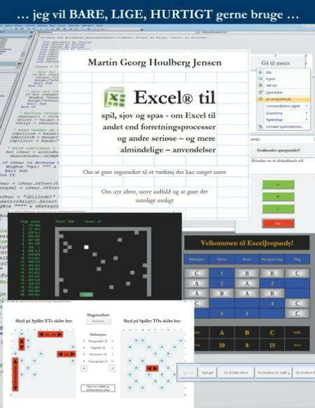 Excel til spil, sjov og spas af Martin Georg Houlberg Jensen