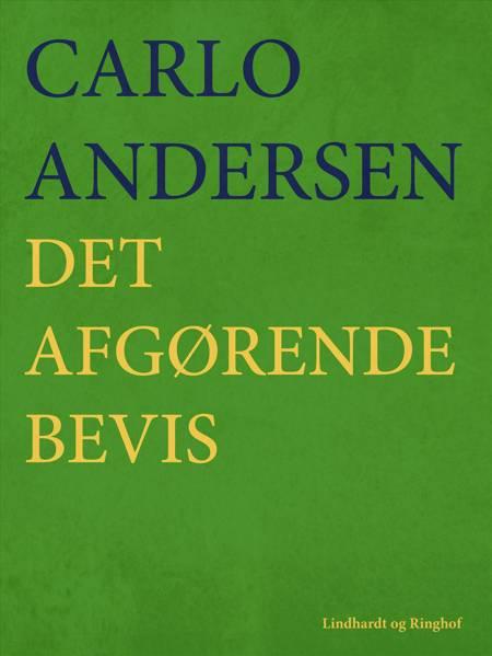 Det afgørende Bevis af Carlo Andersen