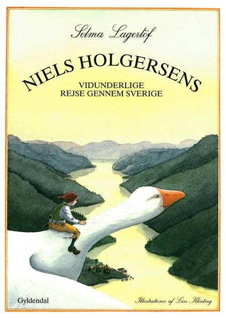 Niels Holgersens vidunderlige rejse gennem Sverige af Selma Lagerlöf
