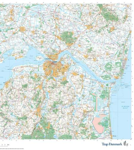 Trap Danmark: Falset kort over Aalborg Kommune af Trap Danmark