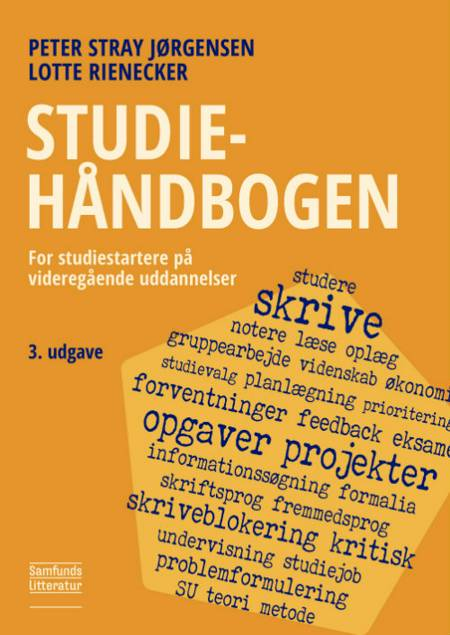 Studiehåndbogen af Lotte Rienecker, Peter Stray Jørgensen og Tina Buchtrup Pipa m.fl.