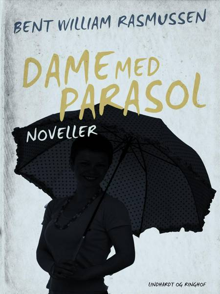 Dame med parasol af Bent William Rasmussen