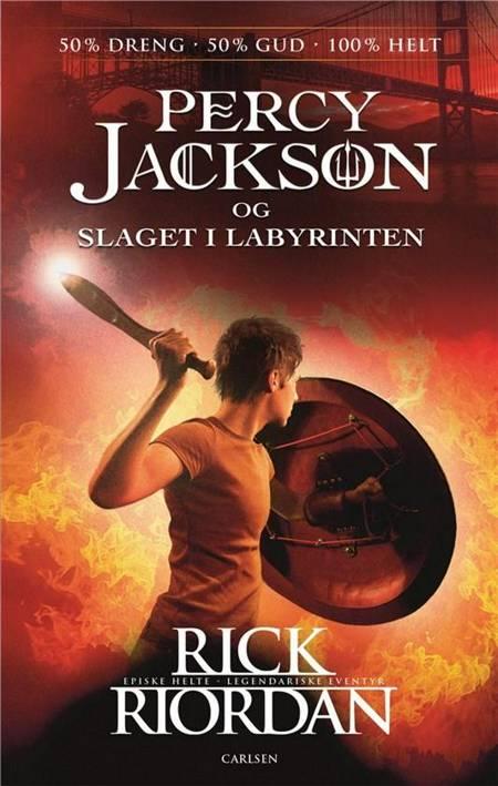Slaget i labyrinten af Rick Riordan