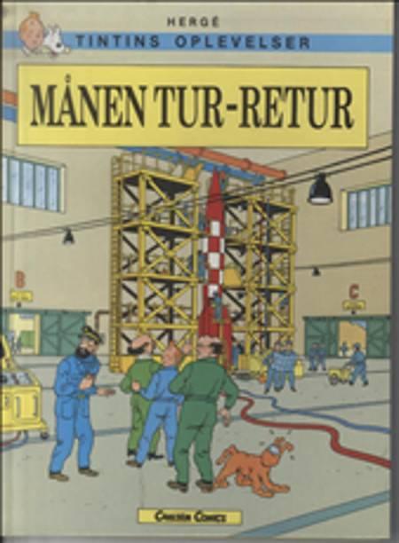Tintin - Månen tur-retur af Hergé