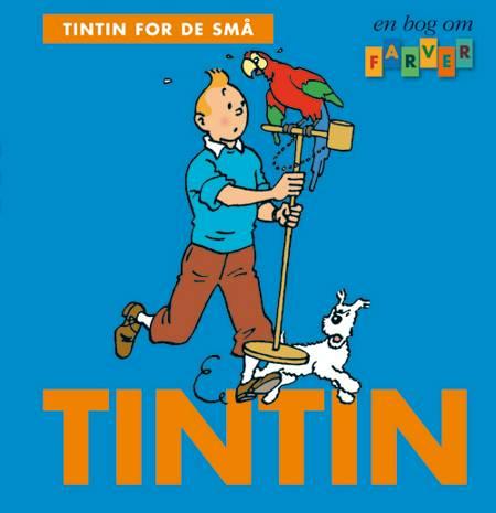 Tintin for de små: En bog om farver af Hergé