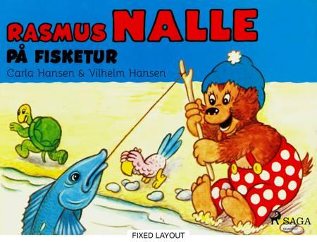 Rasmus Nalle på fisketur af Vilhelm Hansen og Carla Hansen