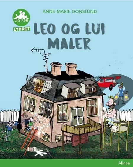 Leo og Lui maler, Grøn Læseklub af Anne-Marie Donslund