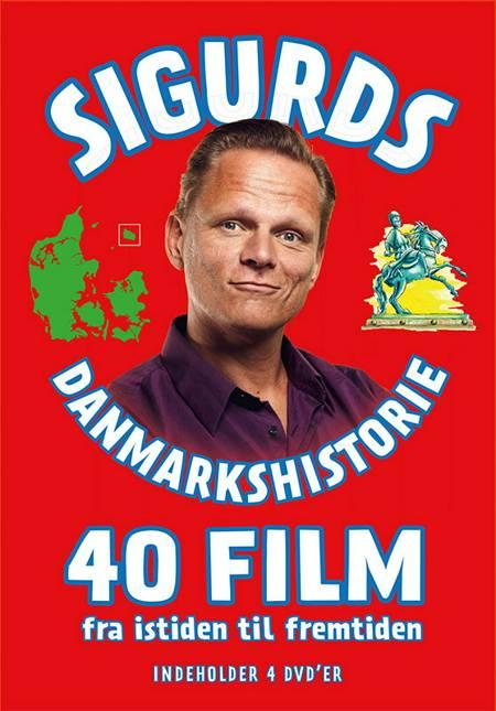Sigurds Danmarkshistorie 40 film - 4 dvd'ere af Sigurd Barrett