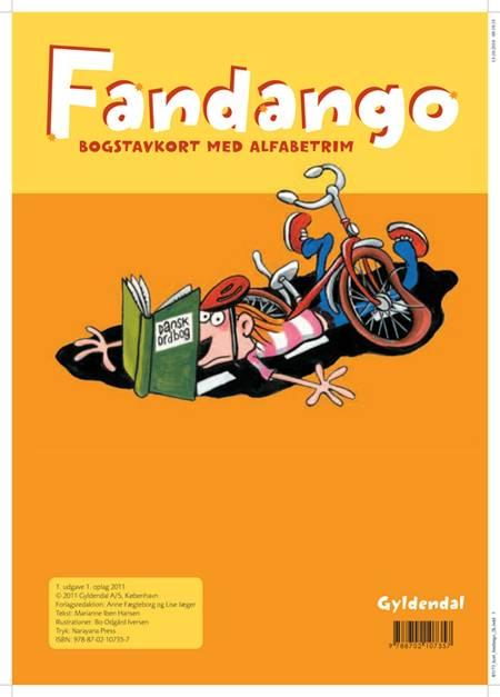 Fandango. Bogstavkort med alfabetrim af Marianne Iben Hansen