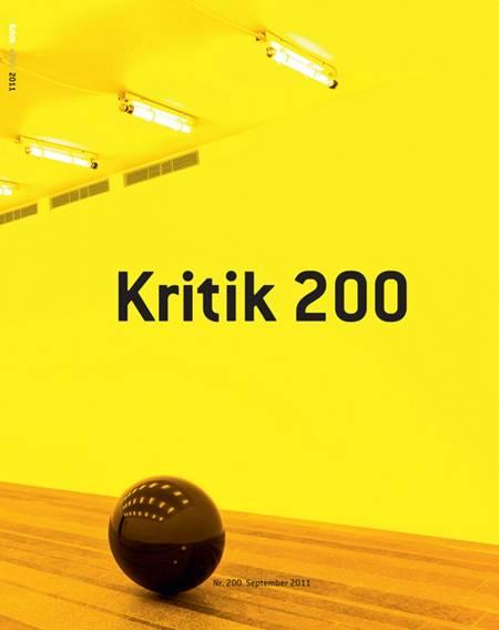 Kritik, 44. årgang, nr. 200 af Lasse Horne Kjældgaard og Frederik Stjernfelt