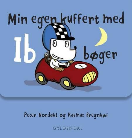 Min egen kuffert med Ib bøger af Peter Nordahl og Rasmus Bregnhøi