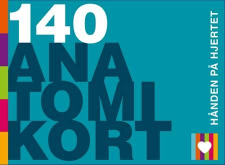 140 Anatomikort - hånden på hjertet af Oluf Falkenberg Nielsen og Mette Juel Bojsen-Møller