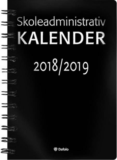Skoleadministrativ kalender 2018-2019
