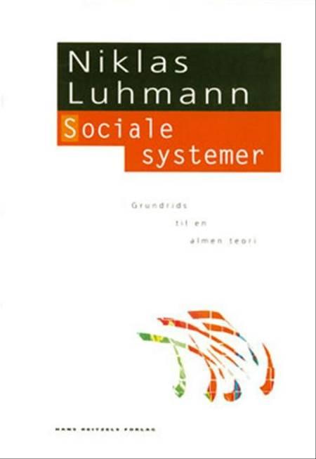 Sociale systemer af Niklas Luhmann