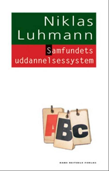 Samfundets uddannelsessystem af Niklas Luhmann