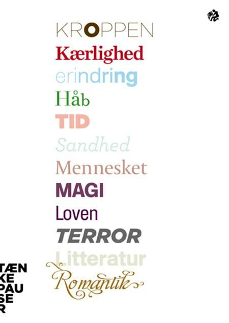 Tænkepauser 13-24 af Dorthe Berntsen, Verner Møller og Anne Marie Pahuus m.fl.