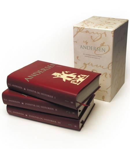 Andersen, Eventyr og historier, Bind 1-3 af H.C. Andersen