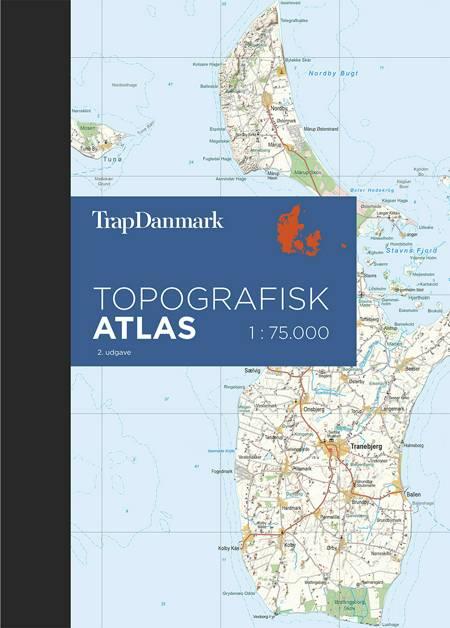Trap Danmark topografisk atlas af Trap Danmark