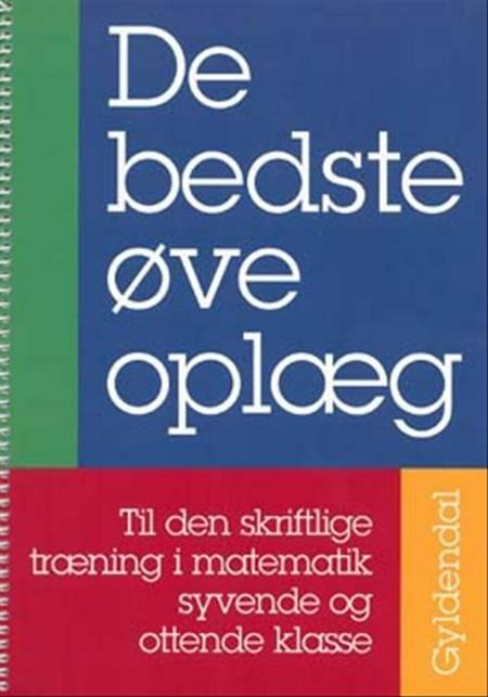 De bedste øveoplæg af Mikael Skånstrøm, Karsten Enggaard og Ane Marie Ditlevsen m.fl.