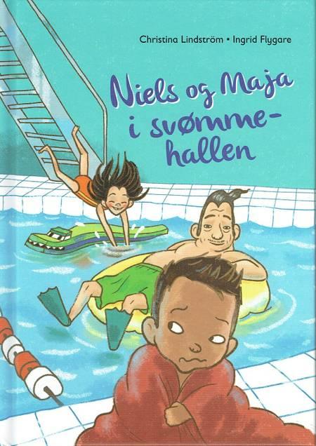 Niels og Maja i svømmehallen af Christina Lindström