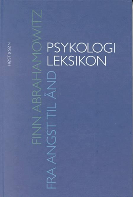 Psykologileksikon af Finn Abrahamowitz