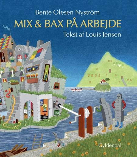 Mix & Bax på arbejde af Louis Jensen