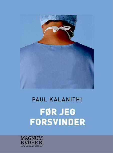 Før jeg forsvinder af Paul Kalanithi