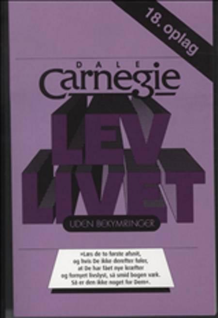 Lev livet uden bekymringer af Dale Carnegie