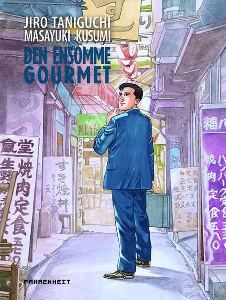 Den ensomme gourmet af Jiro Taniguchi